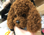 Cute Teddy Dog Hand Made Mobile Cover (For I Phone)
