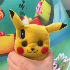 Cute Plush Pikachu (Handmade Mobile covers for iphone)