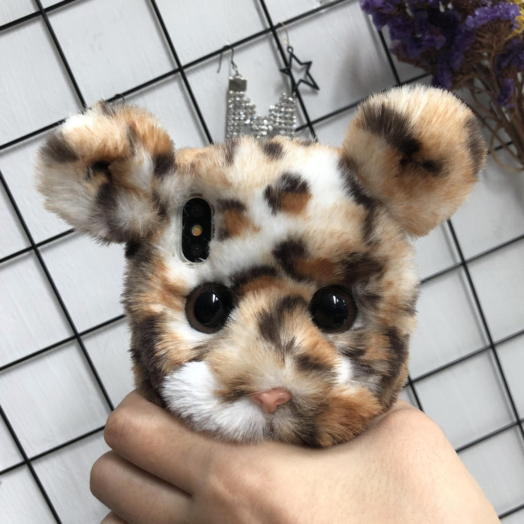 Cute Fat Tiger Hand Made Mobile Cover