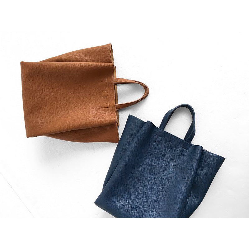 Simple Messenger Tote Bag