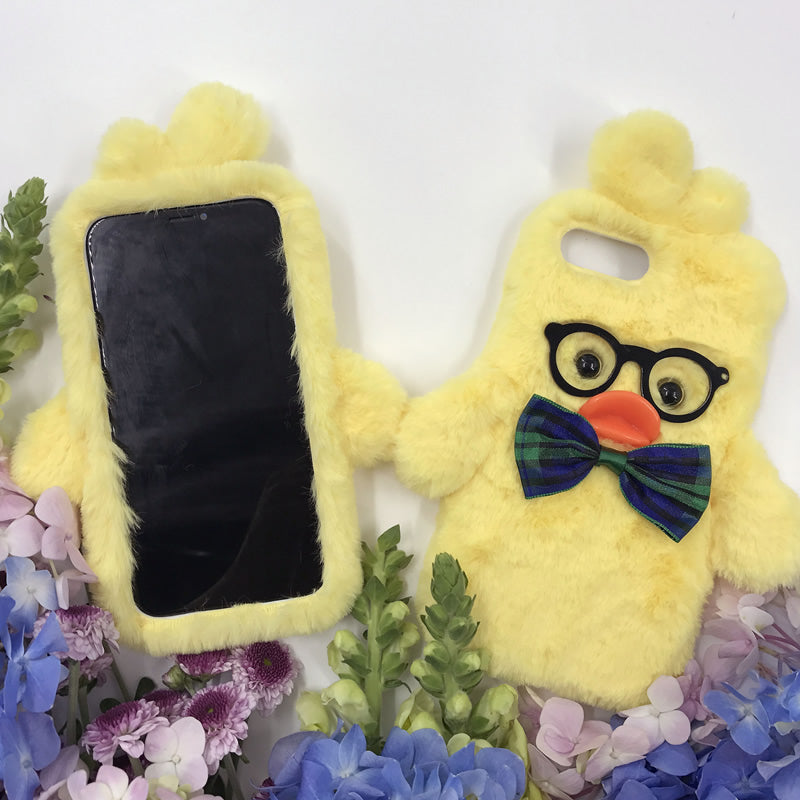 Yellow Duck Hand Made Mobile cover (For Iphone)