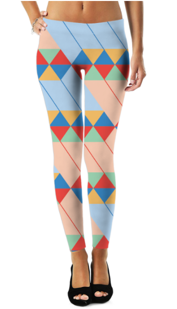 Graphic Pattern (1) Legging