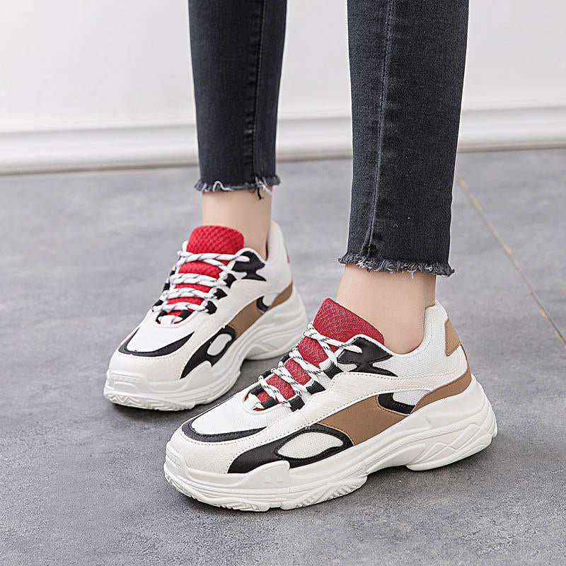 Mesh Breathable Woman  Shoes Ladies Trainers -  AboutTheSHOES