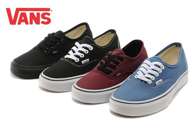VANS Authentic Classic Men,Womens Sneakers Shoes Canvas Shoes -  AboutTheSHOES