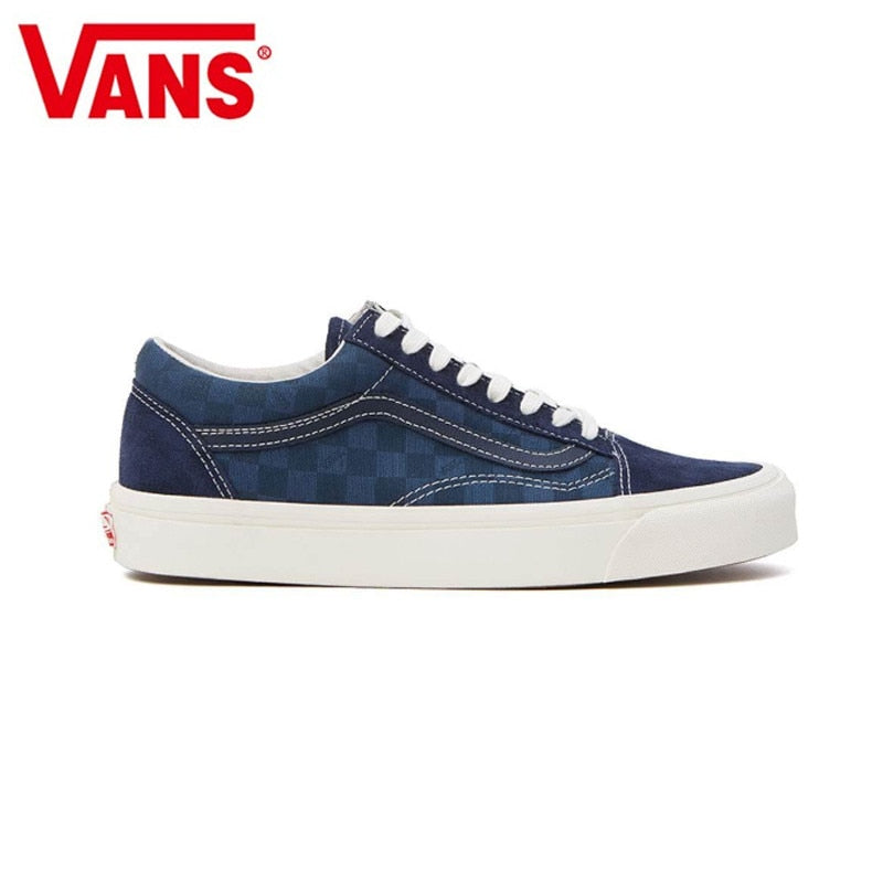 VANS Spring Checkerboard Series Canvas Shoes Classic Men And Womens Sneakers -  AboutTheSHOES