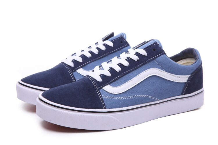 Vans OLD SKOOL Classic Womens Sneakers Canvas Shoes Free Shipping -  AboutTheSHOES