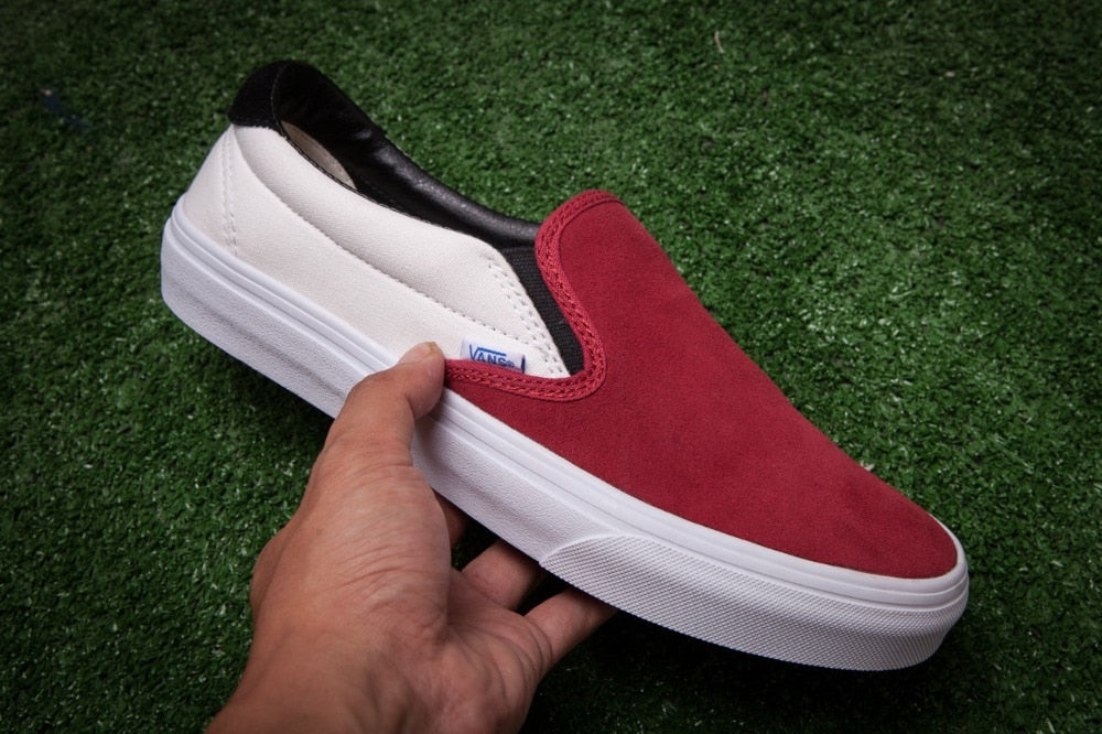 Free Shipping Vans vault og SLIP-ON 59 LX Men's canvas shoes, Sports Shoes Vans shoes -  AboutTheSHOES