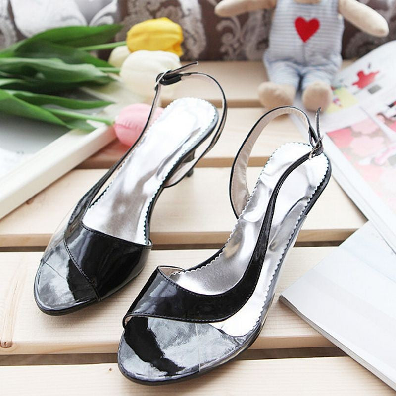 Women Peep Toe High Heel Sandals Sexy Ladies -  AboutTheSHOES
