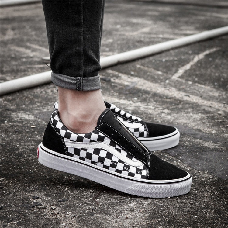 Free Shipping VANS Lacing Lattice Series Mens Unisex Sneakers Vans Canvas Shoes -  AboutTheSHOES