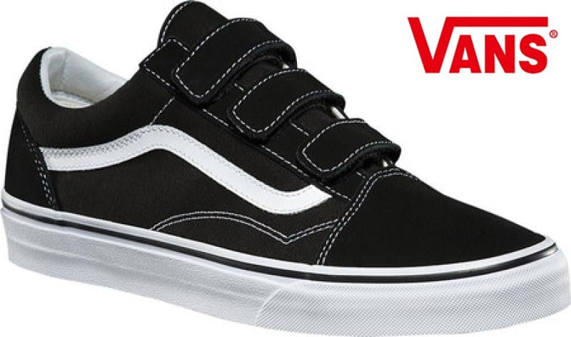 Vans Original Old Skool V Classic Skateboarding Shoes Unisex Leisure Black Canvas Shoes -  AboutTheSHOES