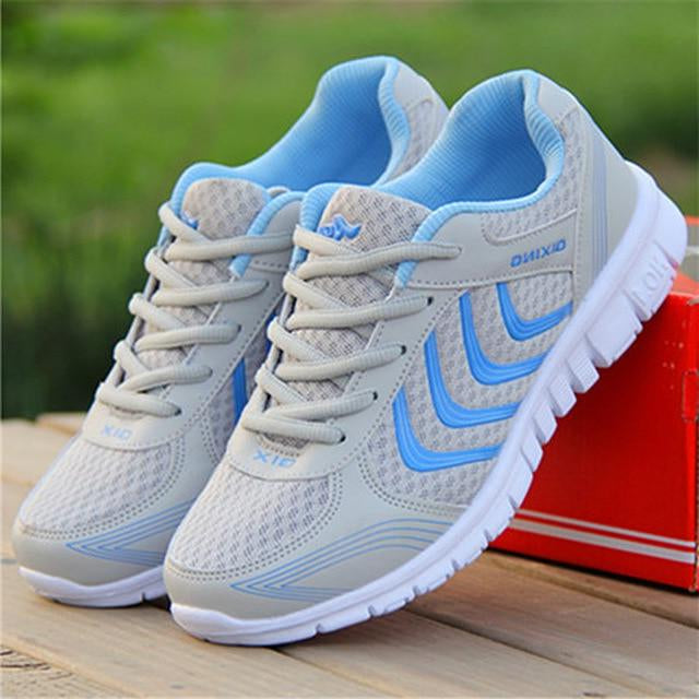 Light breathable mesh casual shoes women sneakers -  AboutTheSHOES