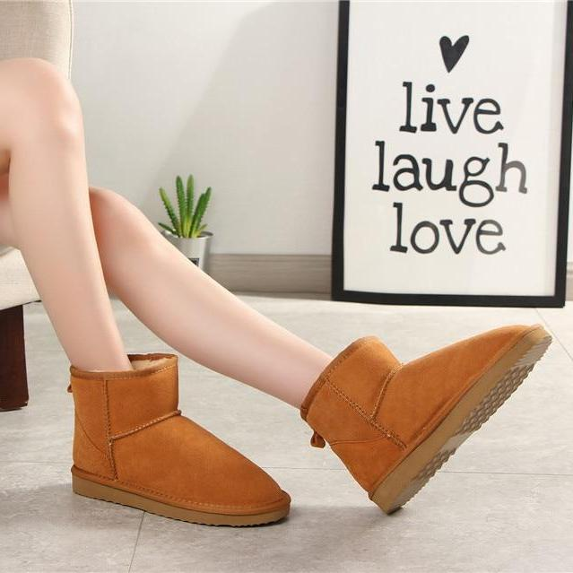 Australia Women Snow Ankle Boots -  AboutTheSHOES