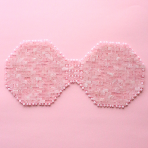 Rose Quartz Chest Mask