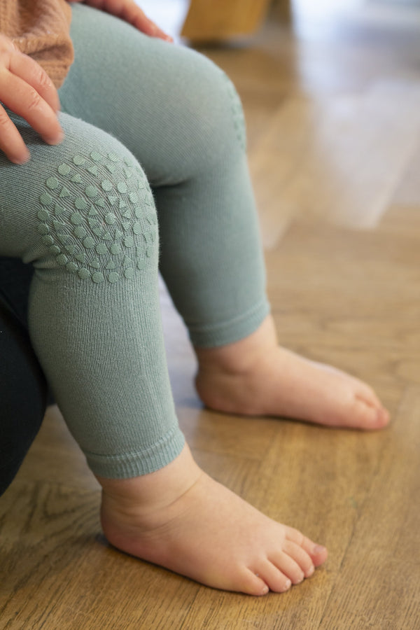 Krabbel Leggings - Dusty Blue