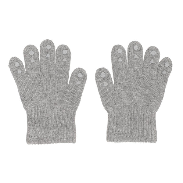 Grip Gloves - Grey Melange