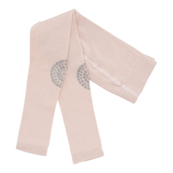 Krabbel Leggings - Soft Pink Glitter