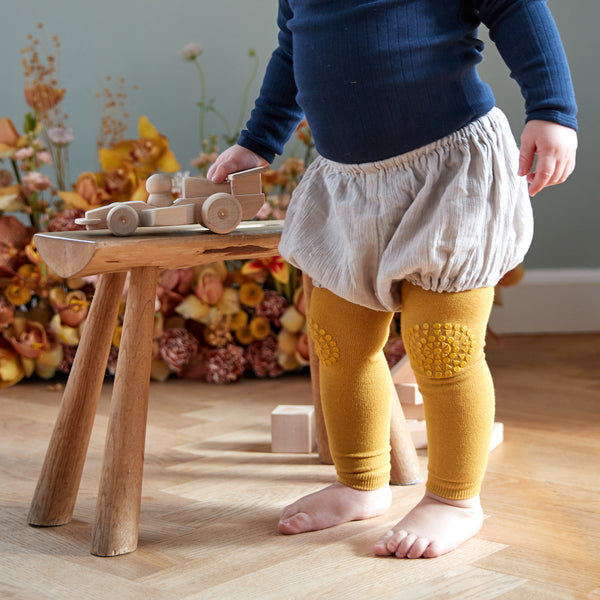 Krabbel Leggings - Mustard