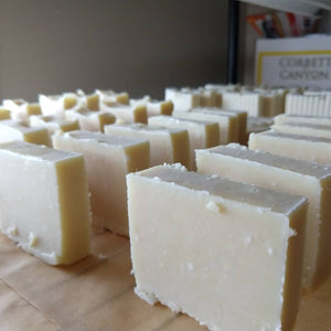 Hunter's Moon (scent-less,) Hand Cut Shampoo & Body Bar