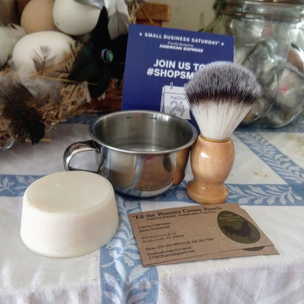 Three Piece Shaving Kit
