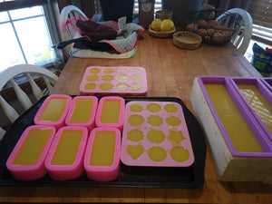 Schedule Your Personal Online Soap Making Class