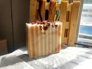 Half & Half Hand Cut Shampoo & Body Bar