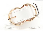 Double Ring Leatherette Belt - MISH Fashion and Swim