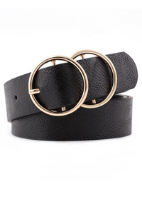 Double O Buckle Belt - MISH Fashion and Swim
