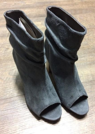 Gray Booties - MISH Fashion and Swim