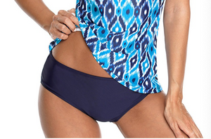 Navy Bikini Bottoms-FW - MISH Fashion and Swim