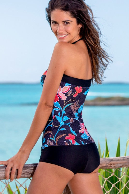 Envy Bandeau Tankini - MISH Fashion and Swim