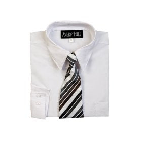 Boys White Shirt - MISH Fashion and Swim