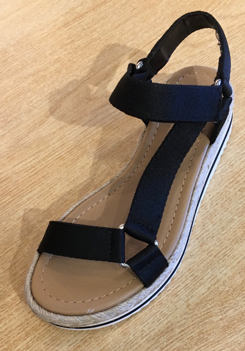 Destiny Black Sandal - MISH Fashion and Swim