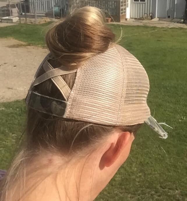 CC Ponytail Cap - MISH Fashion and Swim