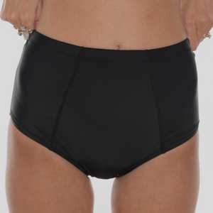 Mid Rise Bottom Black - MISH Fashion and Swim
