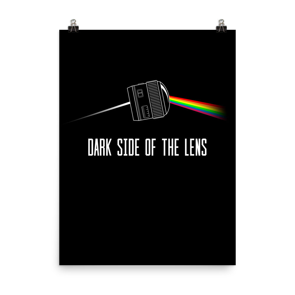 Dark Side Of The Lens Poster