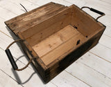 Ammunition wooden box military, usedFloby Överskottslager