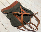 Backpack/pouch m39 in canvasFloby Överskottslager