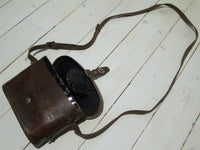 Binoculars in leather w/o, usedFloby Överskottslager