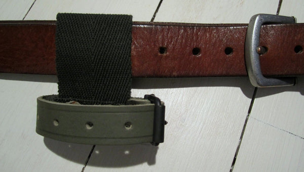 Tool hanger for belt in canvas/leatherFloby Överskottslager
