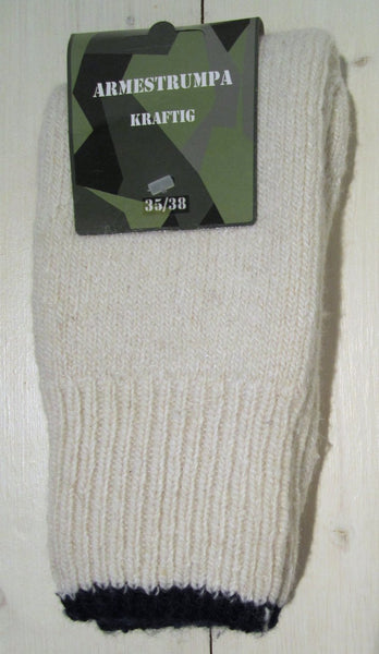 Sock army model, whiteFloby Överskottslager