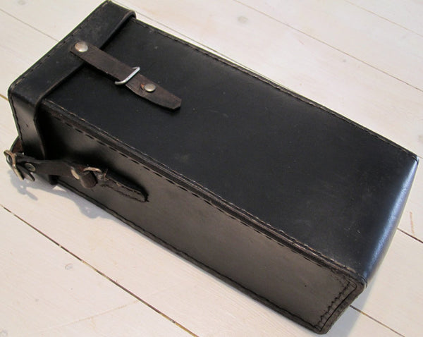 Leather Bag Military, BlackFloby Överskottslager