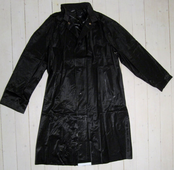 Raincoat military, blackFloby Överskottslager