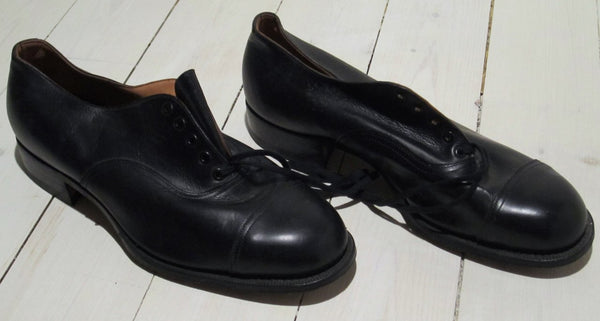 Low shoe 40 figure in black leatherFloby Överskottslager