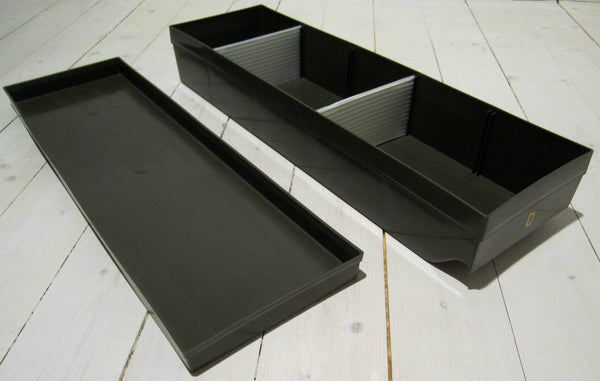 Plastic storage box, military greenFloby Överskottslager