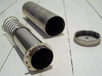 Stainless steel spray tube with lidFloby Överskottslager