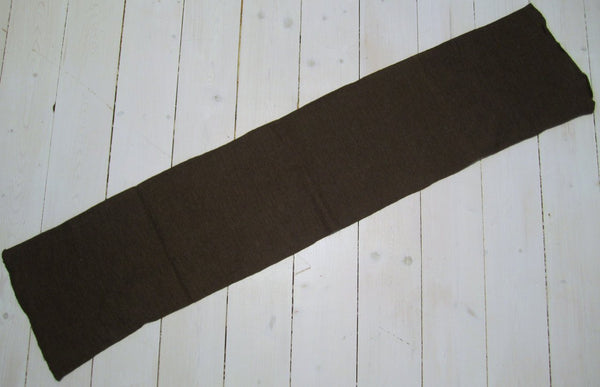 Scarf in cotton, brownFloby Överskottslager