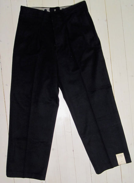Trousers in calf, navy navyFloby Överskottslager