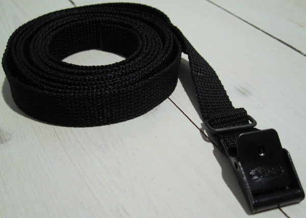 Packing strap black 2m, 15mm.-Floby Överskottslager