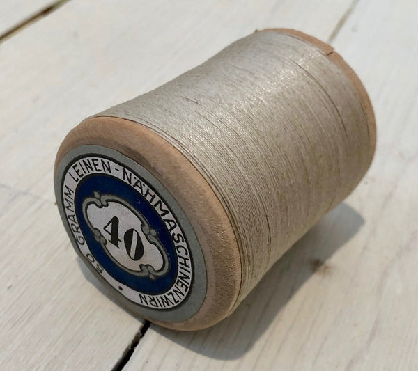 Wire rope on wooden roll, B.Hoogen 50g-Floby Överskottslager