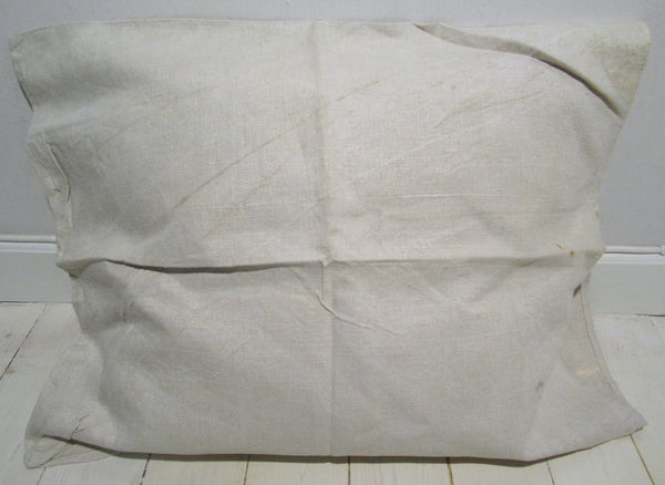 Pillow cover in linen open model, used-Floby Överskottslager